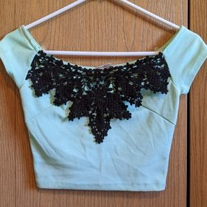 Charolette Russe crop top